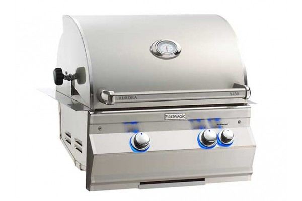 Fire Magic 24-inch Aurora A430i Built-In Grill With Rotisserie