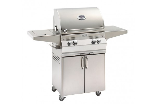 Fire Magic 24-inch Aurora A430s Portable Grill With Single Side Burner