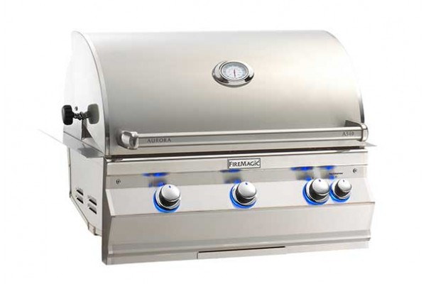 Fire Magic 30-inch Aurora A540i Built-In Grill With Rotisserie