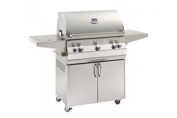 Fire Magic 30-inch Aurora A540s Portable Grill With Single Side Burner