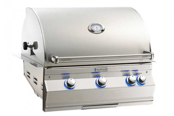 Fire Magic 30-inch Aurora A660i Built-In Grill With Rotisserie