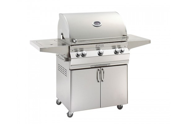 Fire Magic 30-inch Aurora A660s Portable Grill With Single Side Burner