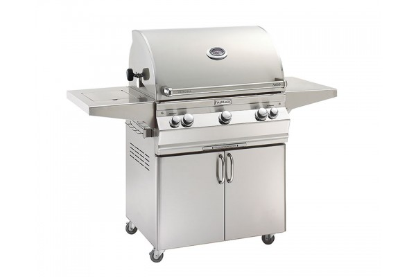 Fire Magic 30-inch Aurora A660s Portable Grill With Side Burner and Rotisserie