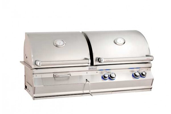 Fire Magic 46-iinch Aurora A830i, Gas and Charcoal Combo Grill
