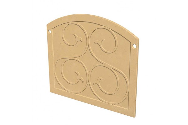 American Fyre Design GFRC Protector Plate for Phoenix and Mariposa Fireplaces