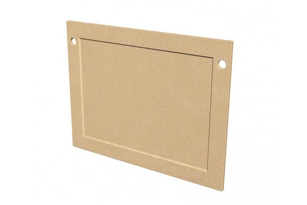 American Fyre Design GFRC Protector Plate for Cordova Fireplaces