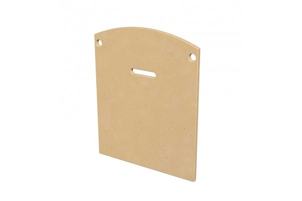 American Fyre Design GFRC Protector Plate for Chica Fireplace