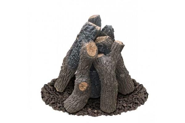 American Fyre Designs Black Country Oak Logs