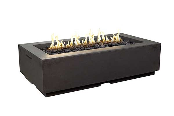 American Fyre Designs Louvre Rectangle Fire Pit