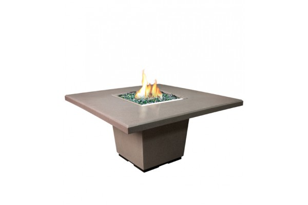 American Fyre Designs Cosmo Square Dining Firetable