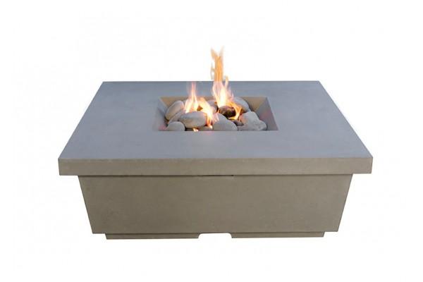 American Fyre Designs Contempo Square Firetable