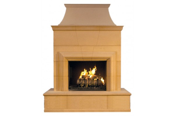 American Fyre Design Cordova Vent-Free Fireplace