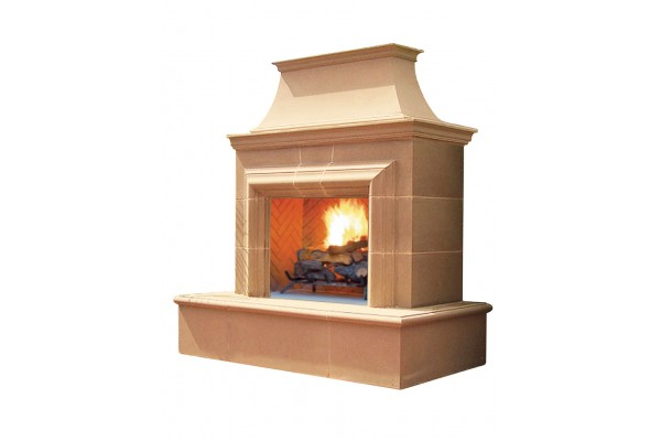 American Fyre Design Reduced Cordova Vent-Free Fireplace