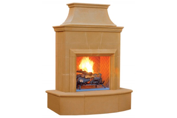 American Fyre Design Petite Cordova Vent-Free Fireplace
