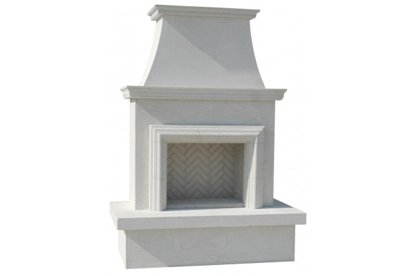 American Fyre Design Contractor's Model with Moulding Vent-Free Fireplace