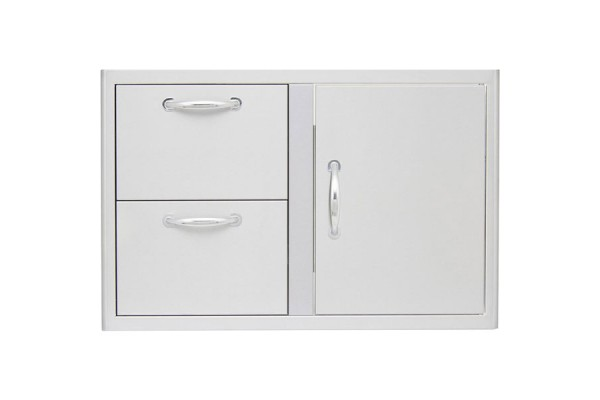 Blaze 32-inch Access Door and Double Drawer Combo