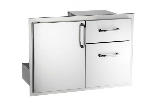 Fire Magic 20 x 30 Access Door with Double Drawer