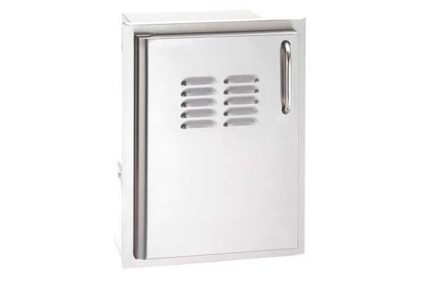 Fire Magic 20  x 14 Single Access Door with Tank Tray and Louvers, Left Hinge