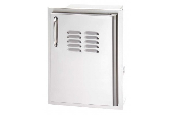 Fire Magic 20  x 14 Single Access Door with Tank Tray and Louvers, Right Hinge