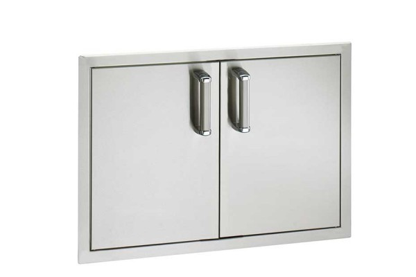 Fire Magic Flush Mount 20  x 30 Double Access Doors with Soft Close System