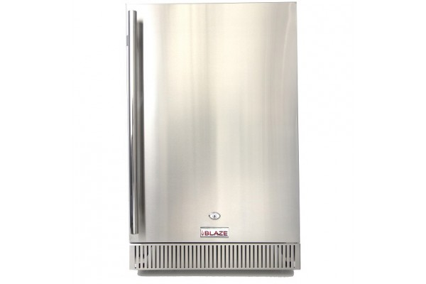 Blaze Outdoor Rated Stainless Steel Compact Refrigerator 4.1 CU Ft.