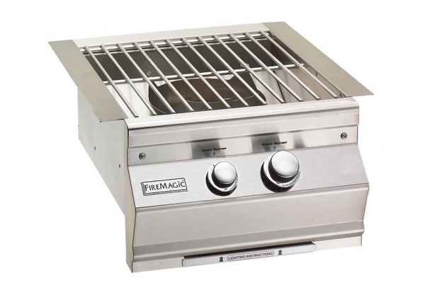 Fire Magic Classic Power Burner With Stainless Steel Cooking Grid