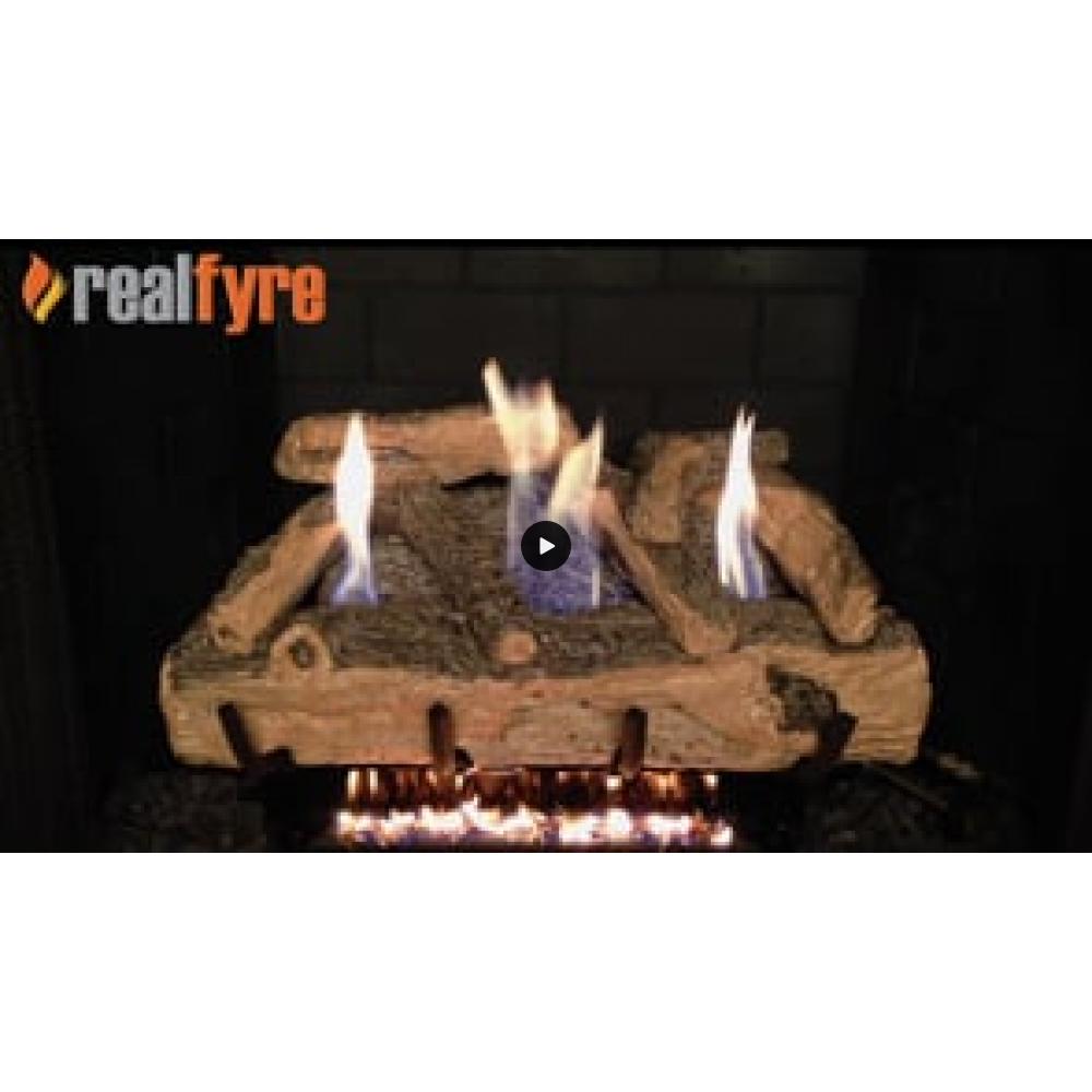 Real Fyre Split Oak Logs Only