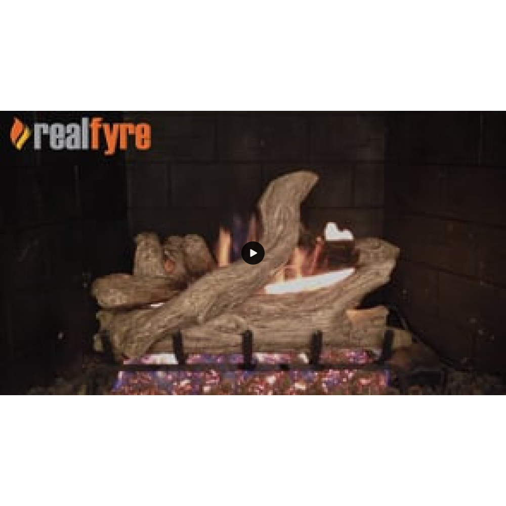 Real Fyre Coastal Driftwood Gas Logs Only